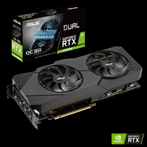 ASUS RTX 2080 SUPER DUAL EVO OC 8GB GDDR6 ( DUAL-RTX2080S-O8G-EVO )