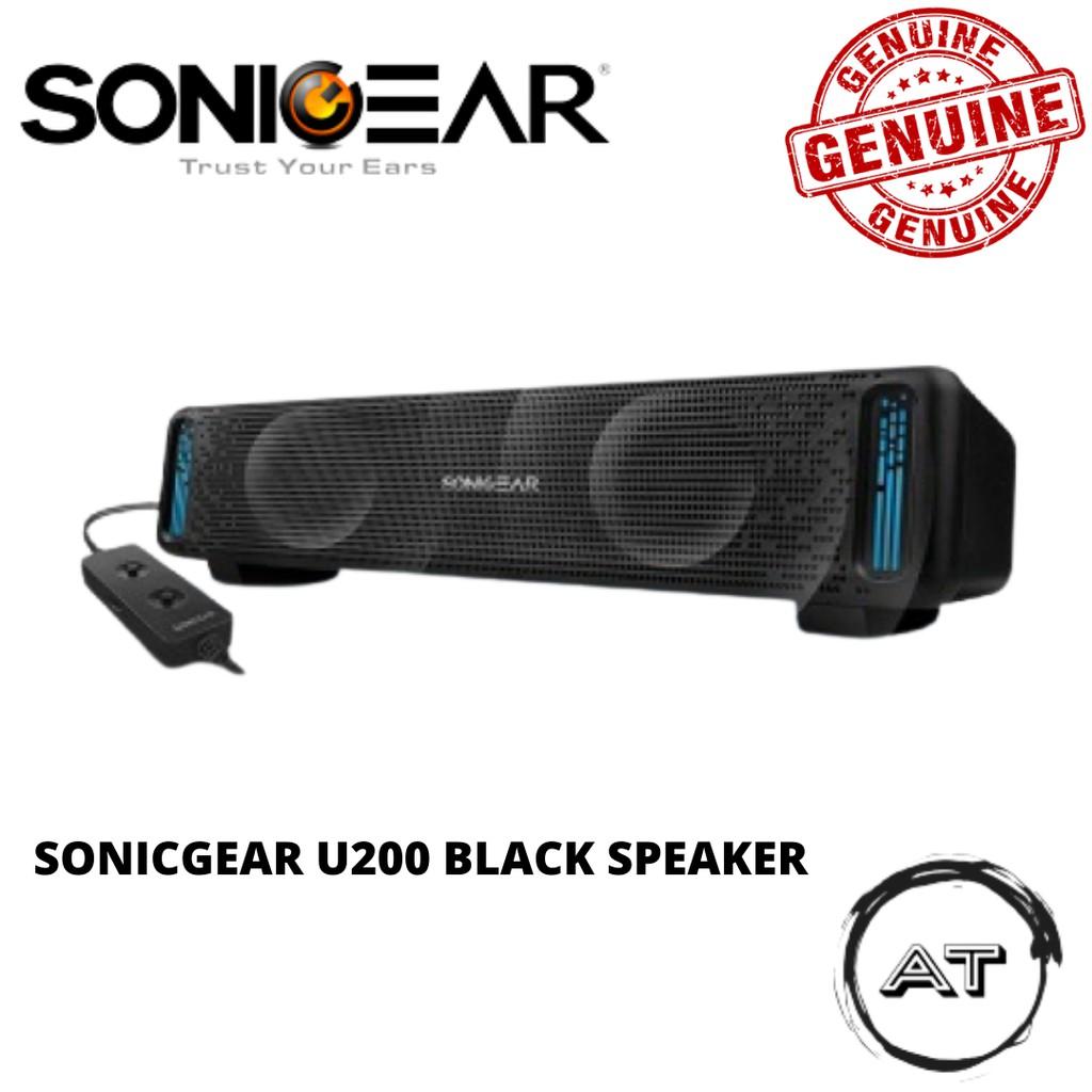 SONICGEAR U200 BLACK SPEAKER