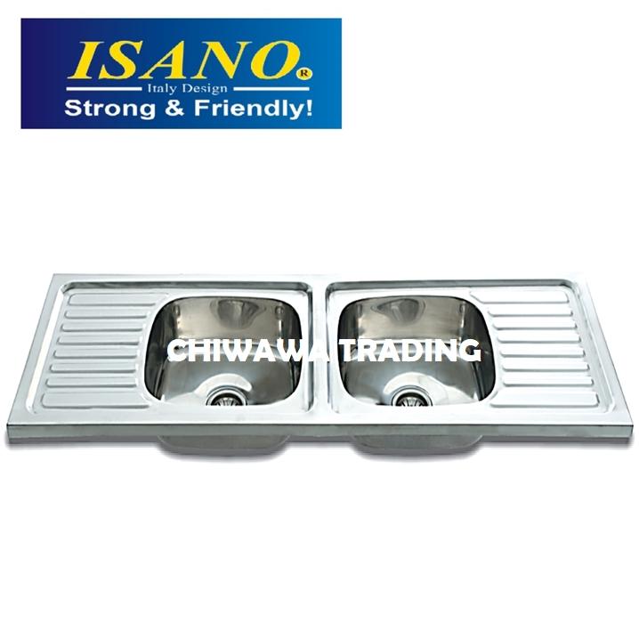 ISANO B550 Stainless Steel Kitchen Sink Bowl Basin Drainer