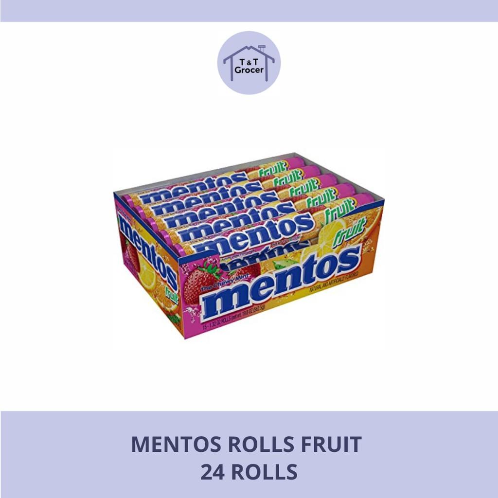 Mentos 24 Rolls (Fruit/ Mint)
