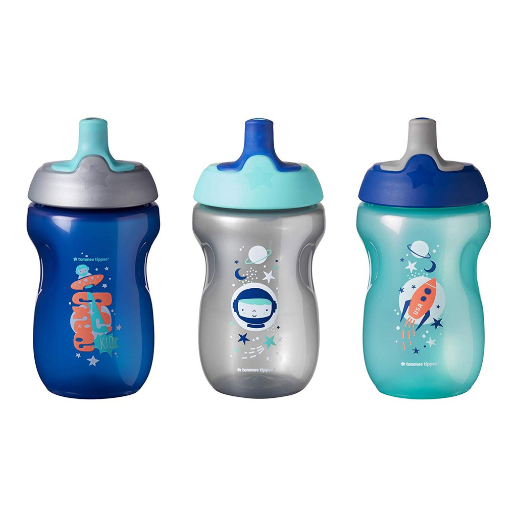 Tommee Tippee Cups Sippee Insulated Straw Sports Bottle BPA FREE