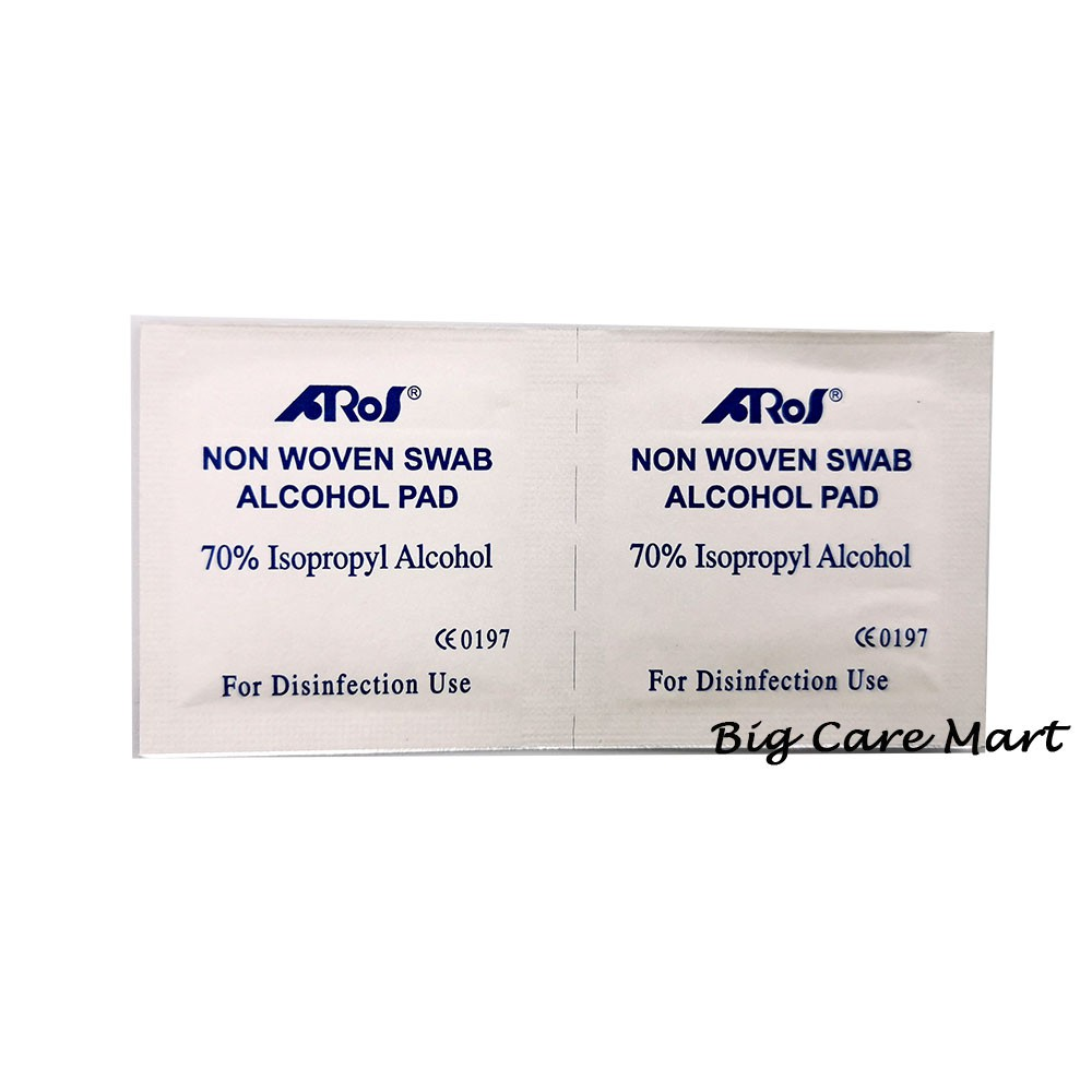 ALCOHOL SWAB 100S (COTTON WITH ALCOHOL)