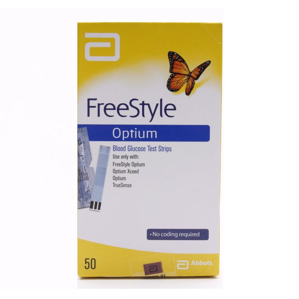 Optium Freestyle Blood Glucose Test Strip 50s Shopee Malaysia
