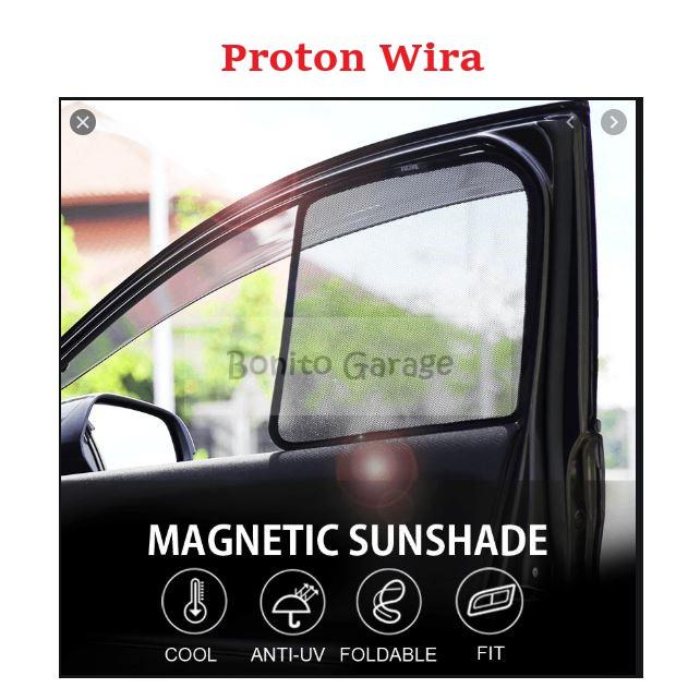 Magnetic Sunshade Proton Wira 4pcs