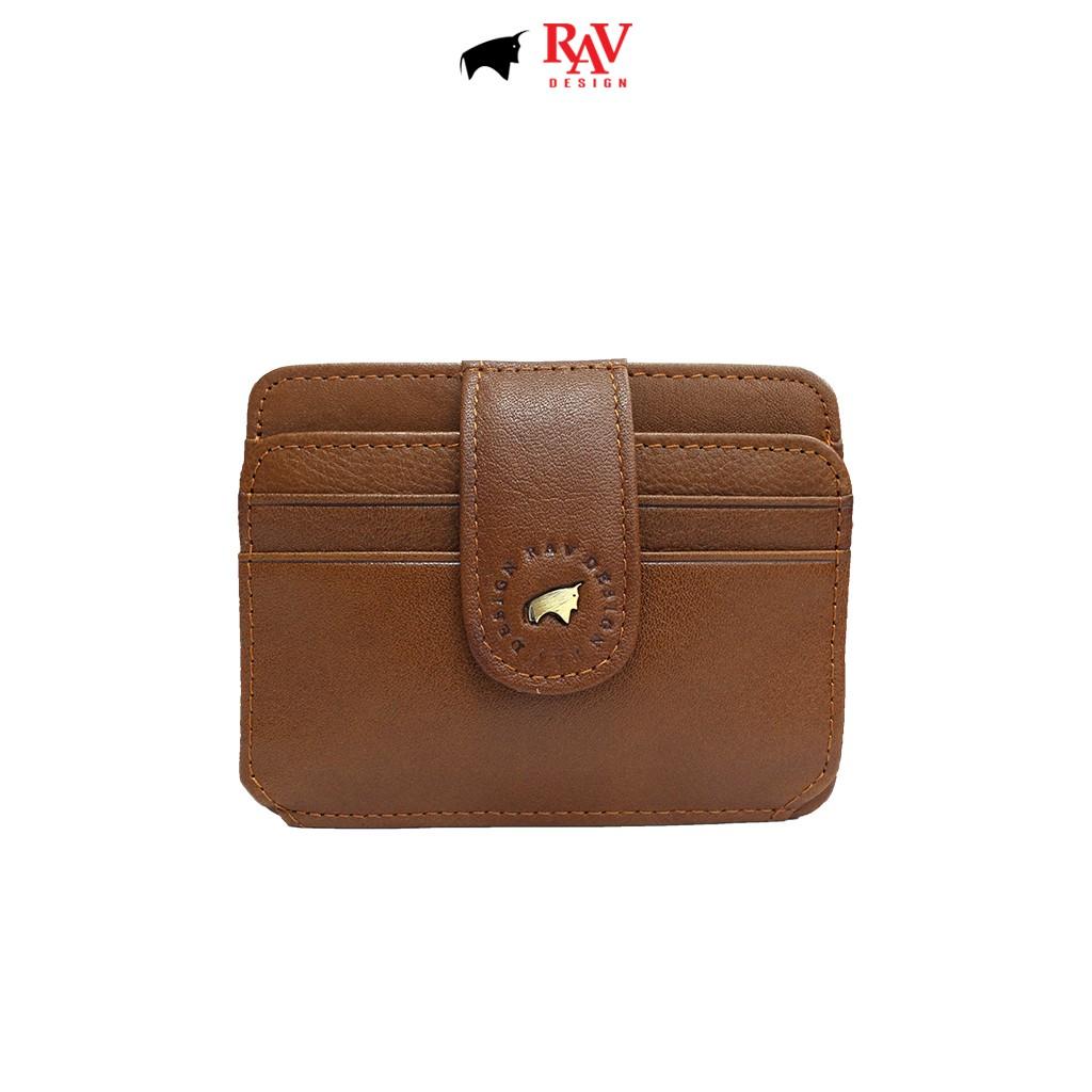 RAV DESIGN Leather Card Holder |RVH657G1