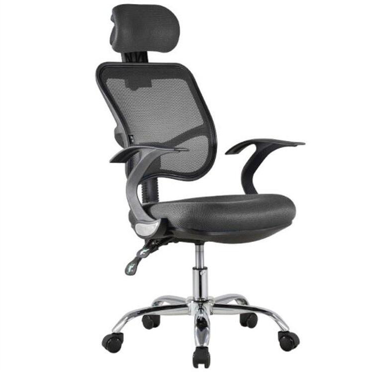 Office Chair Ergonomics Mesh Chair Computer Chair Desk Chair High Back Chair W Adjustable Headrest And Armrest Shopee Malaysia