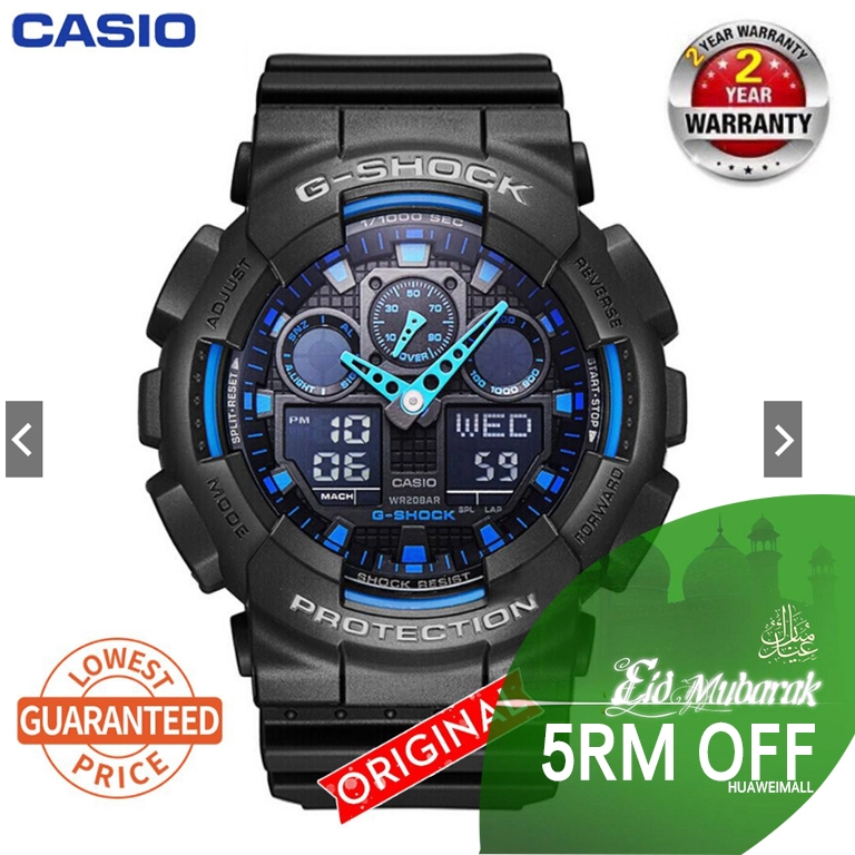 15cc76700 【Crazy Sales】100% Original Casio G-SHOCK Men's GA-120 Watch Sport Wa |  Shopee Malaysia