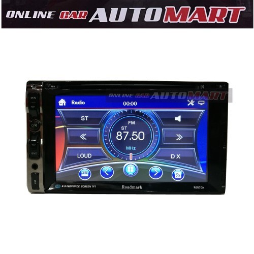 ROADMARK F6070A 6.2'' 2 Din Double Din DVD/VCD/MP4/USB/SD/BLUETOOTH Monitor