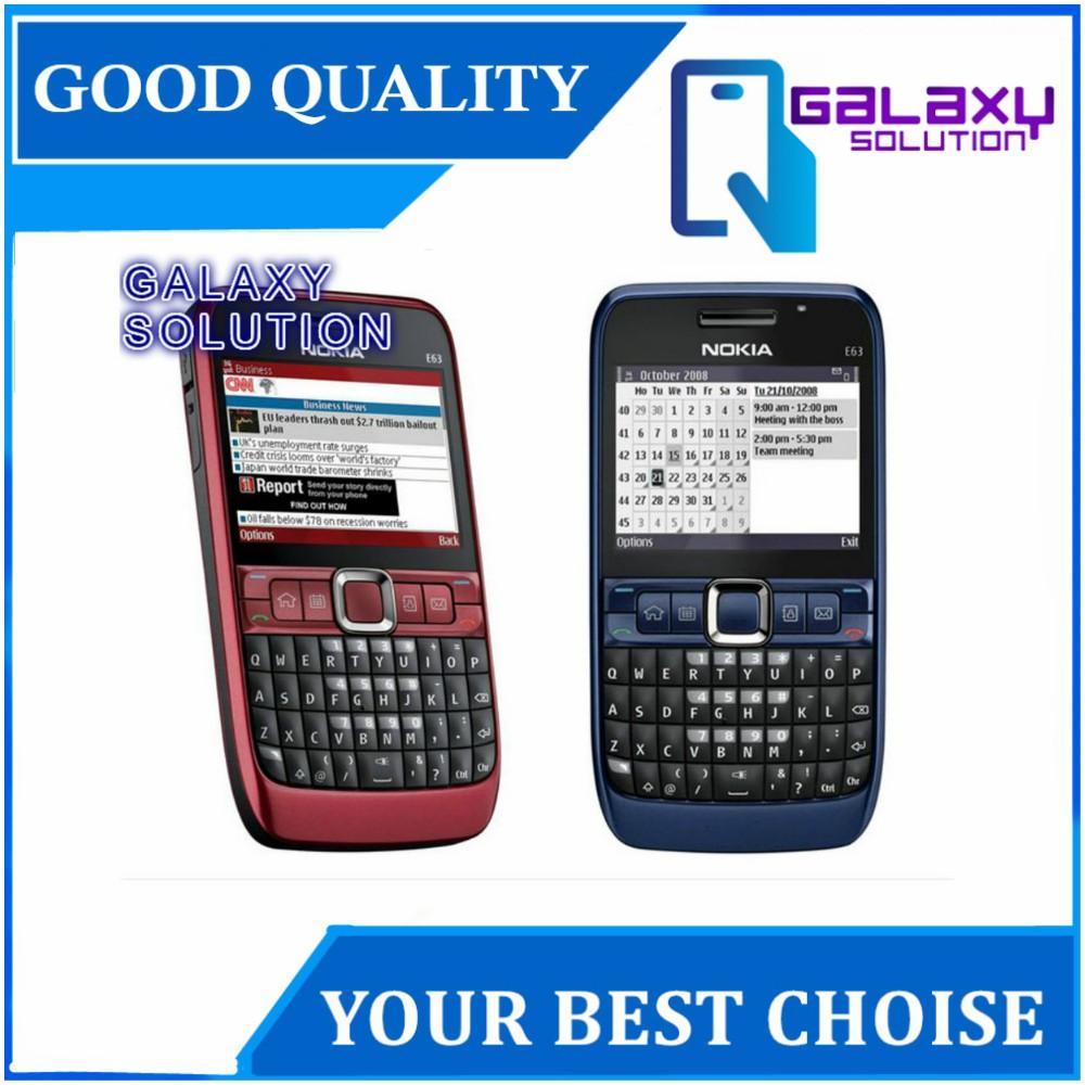 Nokia E63 - With WIFI [100% NOKIA ORIGINAL] (Refurbished
