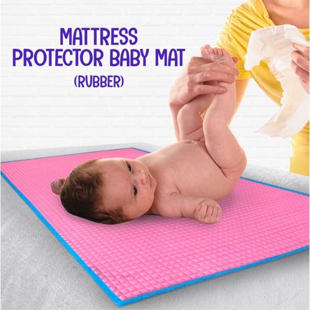 MALAYSIA] 60CM X 90 CM PELAPIK TILAM KANAK-KANAK KALIS AIR / MATTRESS PROTECTOR BABY MAT (RUBBER)