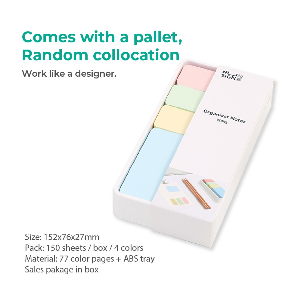 Jadi Nusign Colorful Office Sticky Note