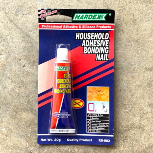 [2Free1] HARDEX Household Adhesive Bonding Nail RS-882 (20g)