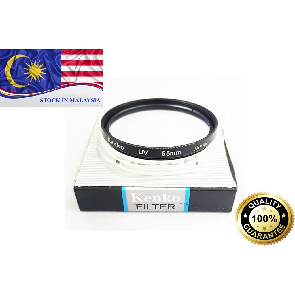 Kenko Optical 55mm UV Filter For DSLR Camera (Ready Stock In Malaysia)