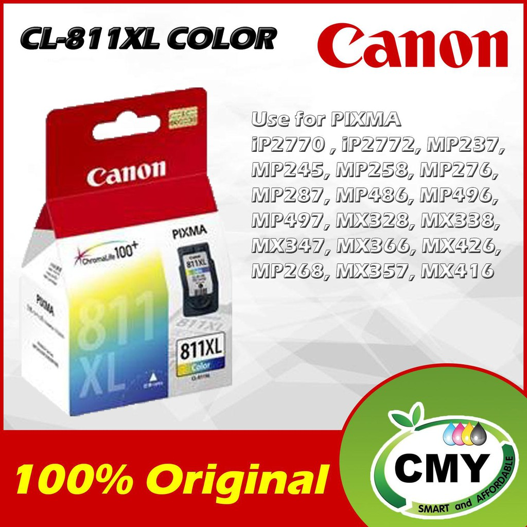 Genuine Original Ink Canon CL-811XL (Colour) CL811XL CL 811XL