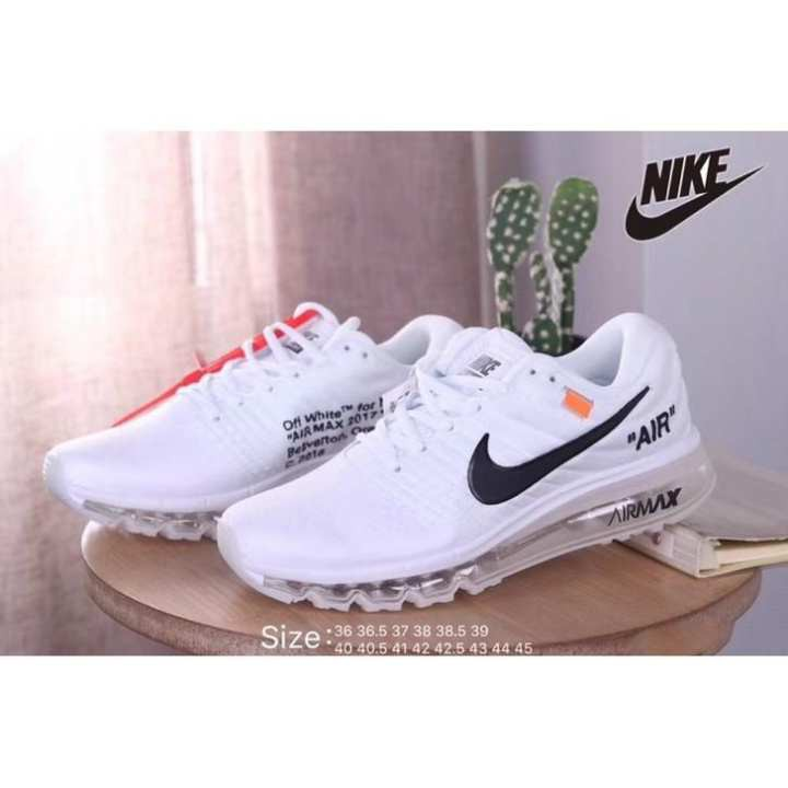 separation shoes 3f8f2 cfa1f 2019 Nike New Air Max 2018 Off 2 Colors Men Women Sneakers Sport Original  Sports Shoes Ready Stock Sneakers