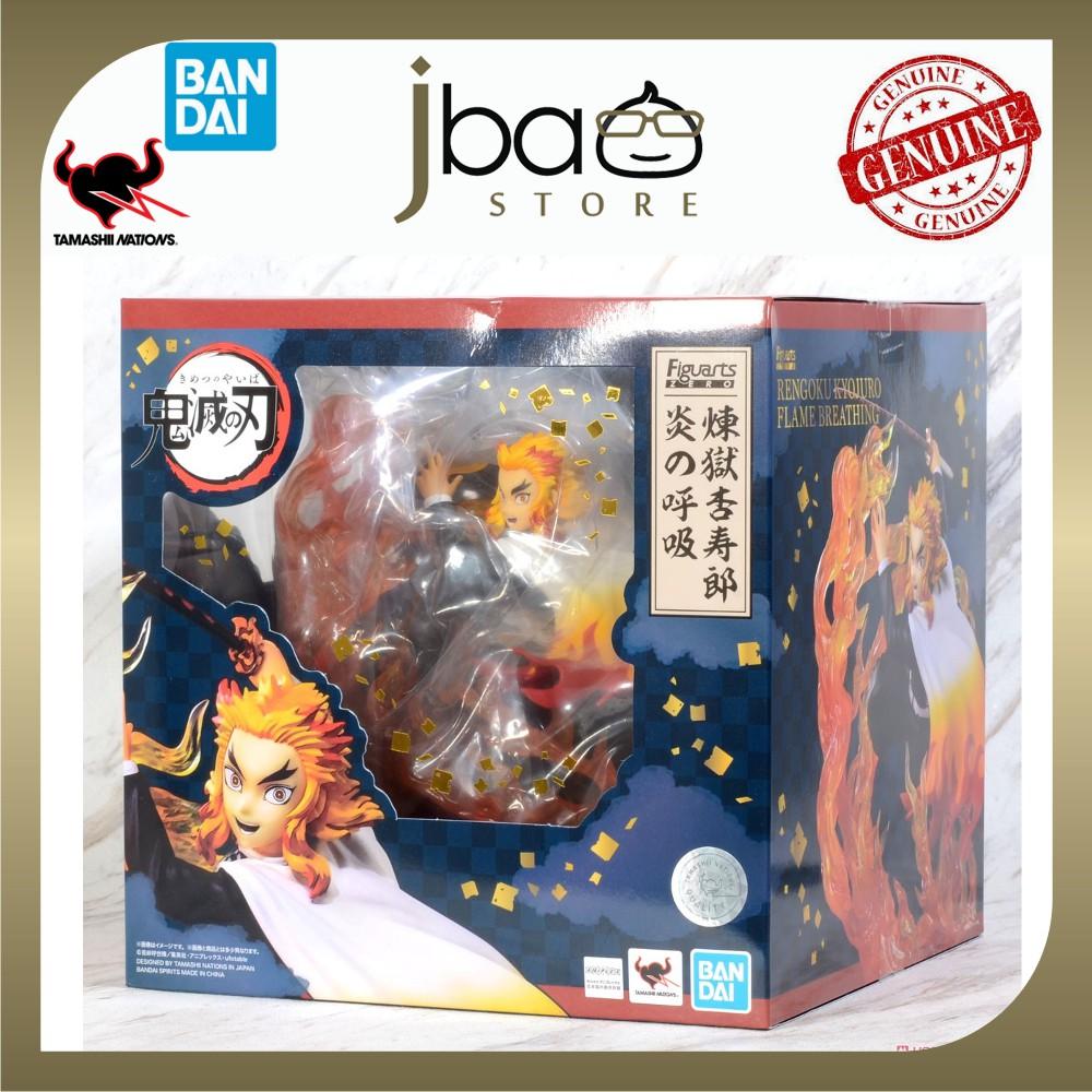 Bandai Figuarts Zero Kyojuro Rengoku Flame Breathing Demon Slayer Kimetsu no Yaiba Tamashii Nations