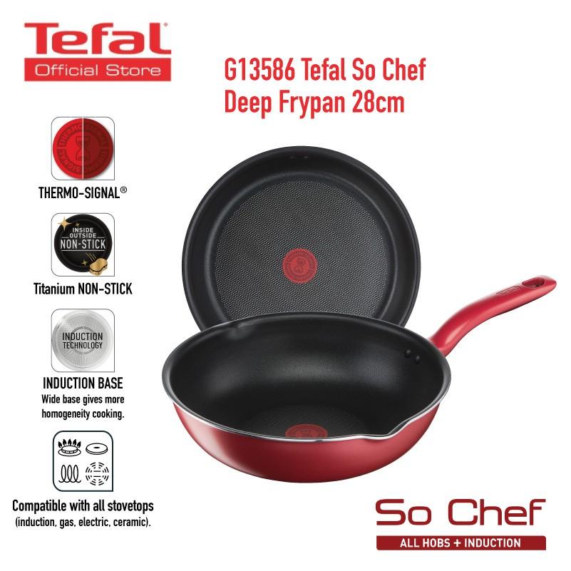 Induction Technology Tefal Hard Titanium Frypan Frying Pan 24cm