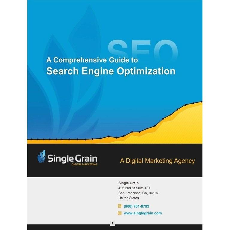 A Comprehensive Guide for Search Engine Optimization (SEO) [PDF]