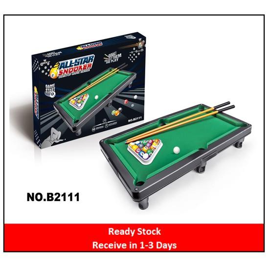 Ready StockAll Star Snooker / Billiards Tabletop Toy
