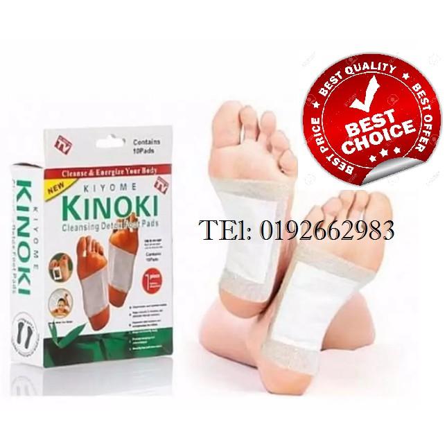 Kiyome Kinoki Cleansing Detox Foot Herbal Pads (3Box 30pcs)