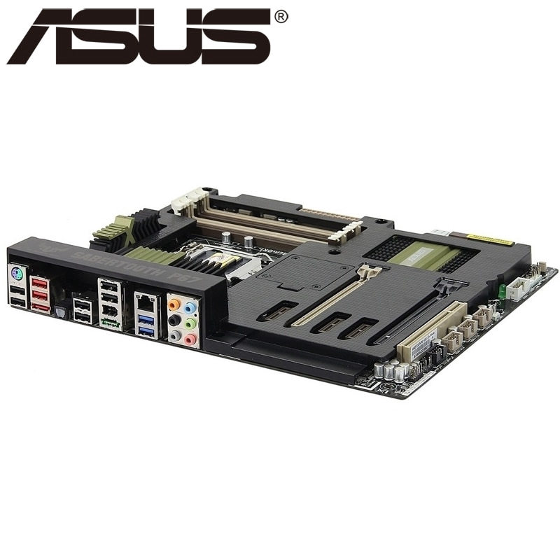 ASUS SaberTooth P67 Motherboard Chipset Intel P67 LGA1155 DDR3 With I//O