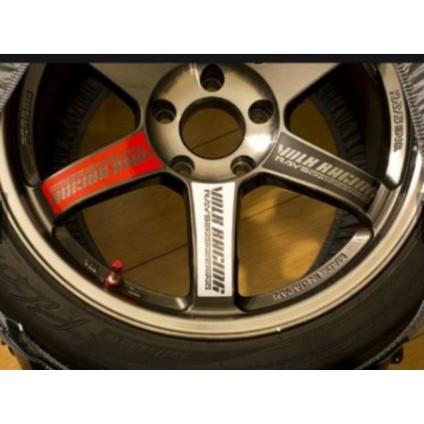 1 Set TE37 TOKYO TIME ATTACK Wheel Rim Spoke Sticker Decal Vinyl