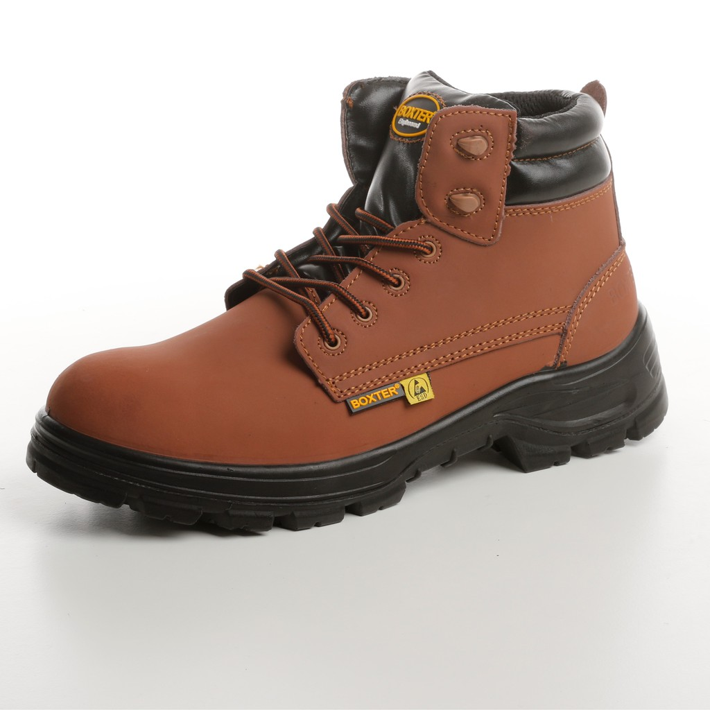 a96da1064fe NUBUCK LEATHER SAFETY BOOTS STEEL TOECAP WATER RESISTANCE S2/SRC
