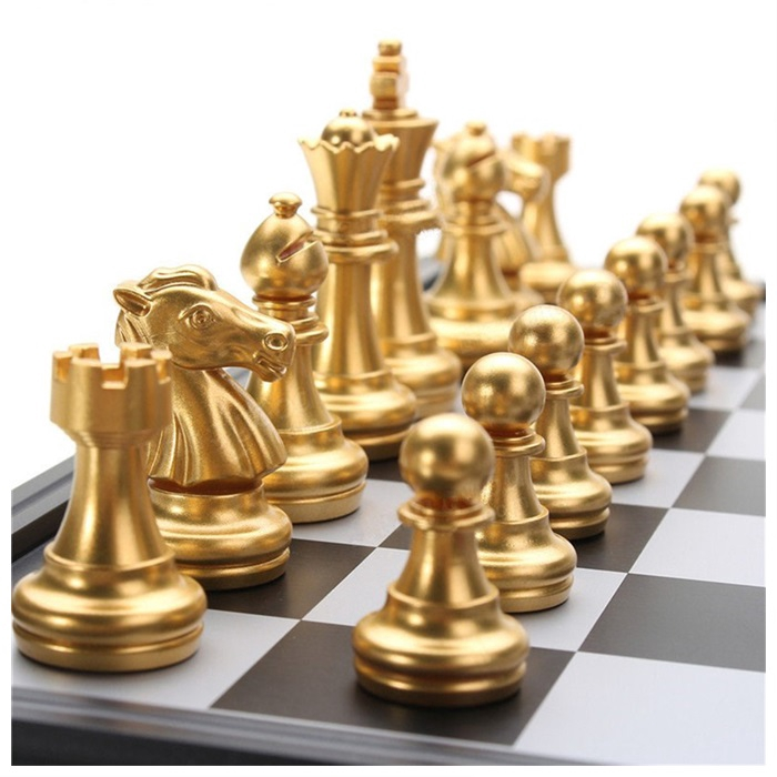 MALAYSIA: CATUR Magnetic Travel Chess Set For Kids Or Adults Chess Board Game