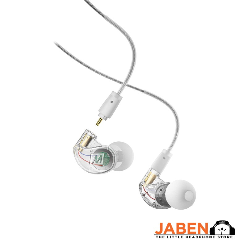 Mee Audio M6 Pro Gen 2 Professional Monitoring In-Line Mic Detachable Cable Wired IEM In-Ear Earphones [Jaben] SE215