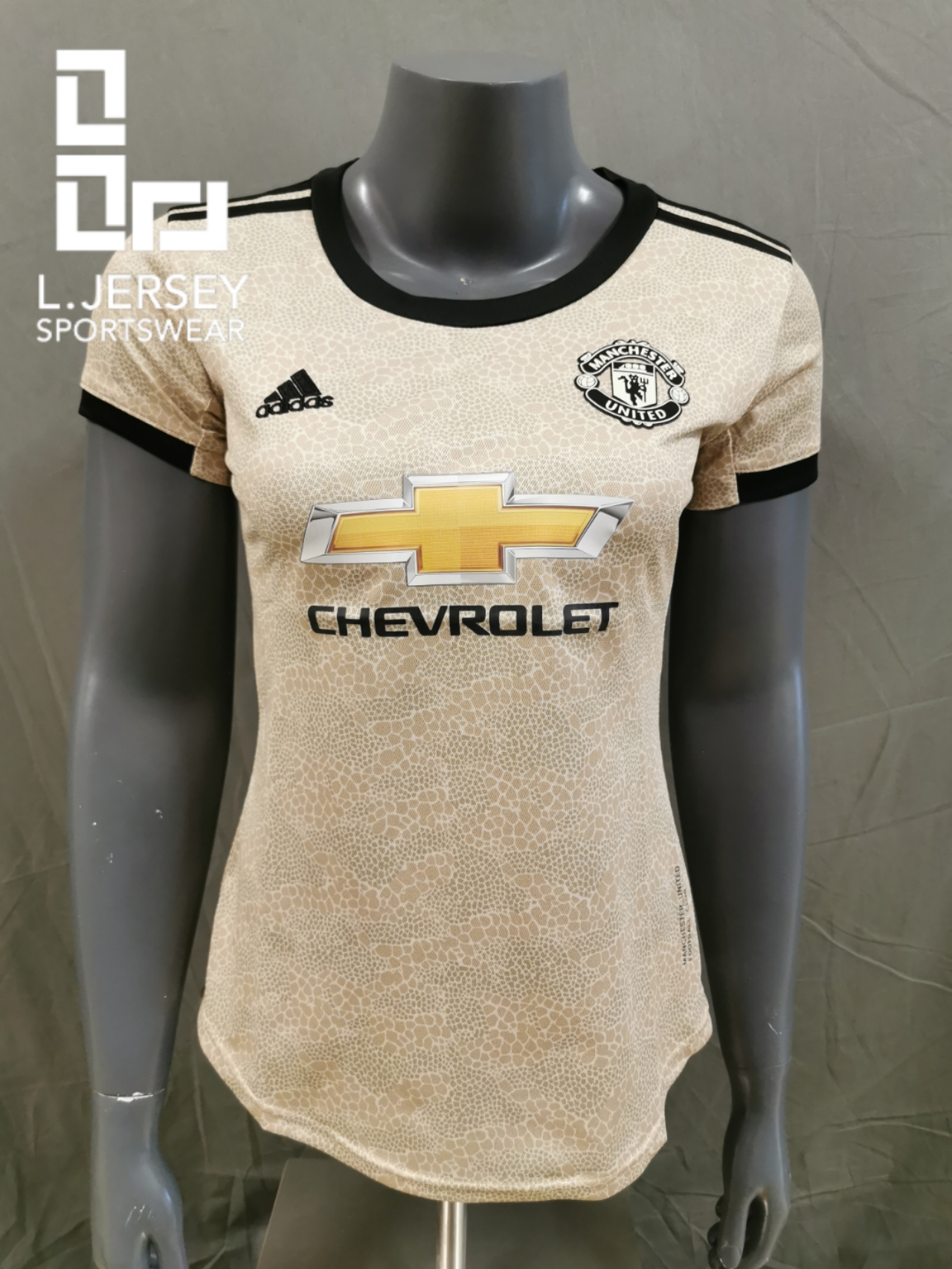 Manchester United Women Away Season 19/20 Fans Issue Jersey