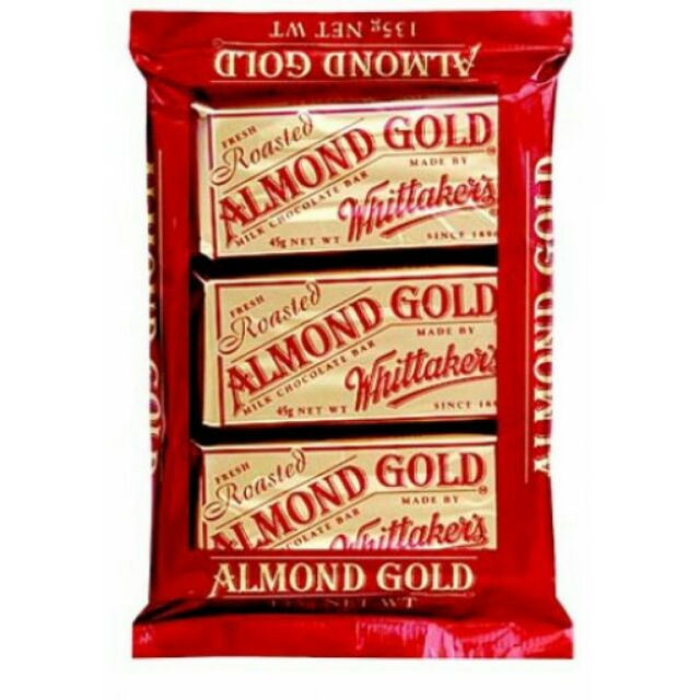 Coklat Almond Gold Whittakers