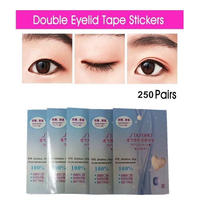 ☀️Ready Stock🍒 Double Eyelid Tape Stickers 5 pack