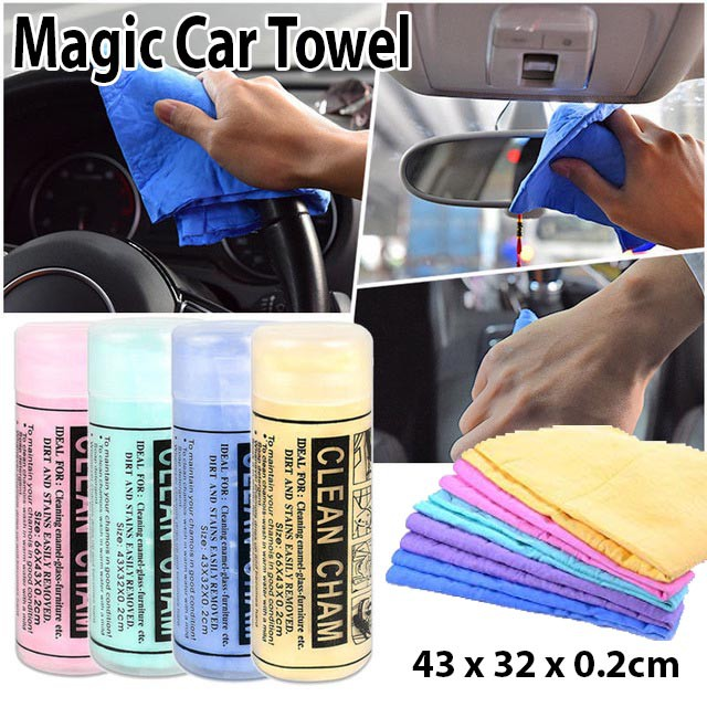 Super absorbent Hair Dry Towel Suede Towel Cleaning Wash Car Window Wipe Cloth