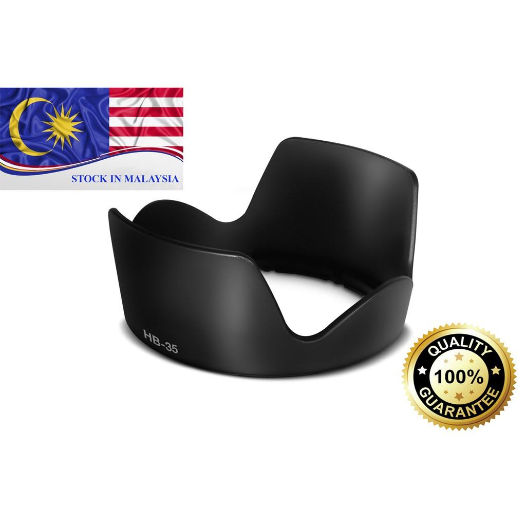 HB-35 HB35 Hood NIKON AF-S DX VR 18-200mm f/3.5-5.6G (Ready Stock In Malaysia)