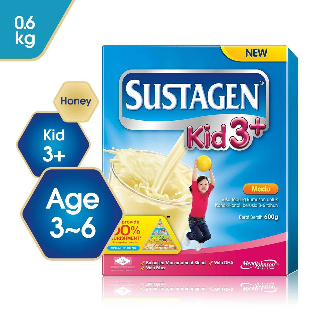 Sustagen Kid 3+ Honey (600g)