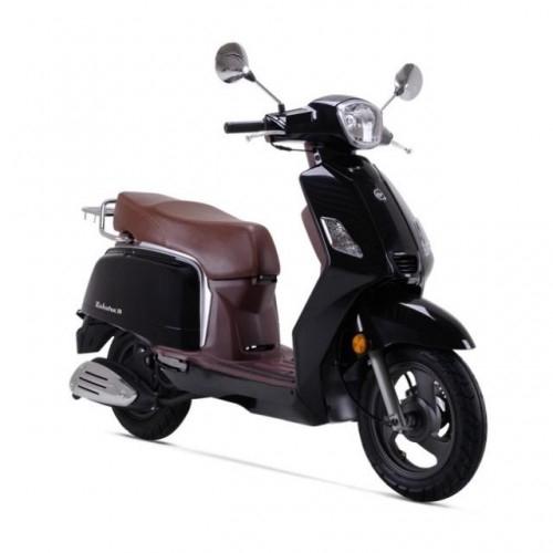 ZAHARA 125 (Black) Motorcycle