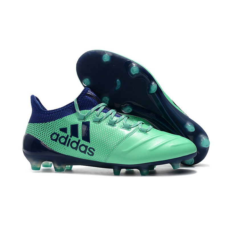 New Original adidas X 17.1 leather FG35 45 Soccer Shoes Football Shoes