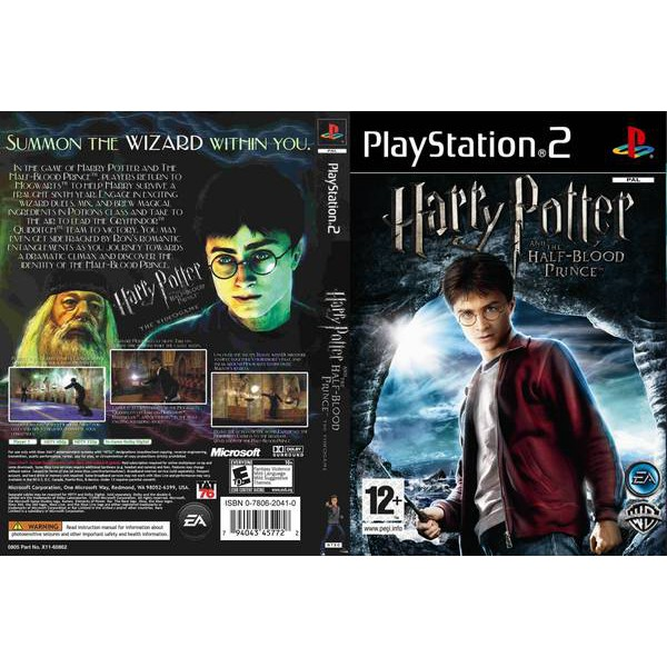 Ps2 Harry Potter And The Half Blood Prince Shopee Malaysia