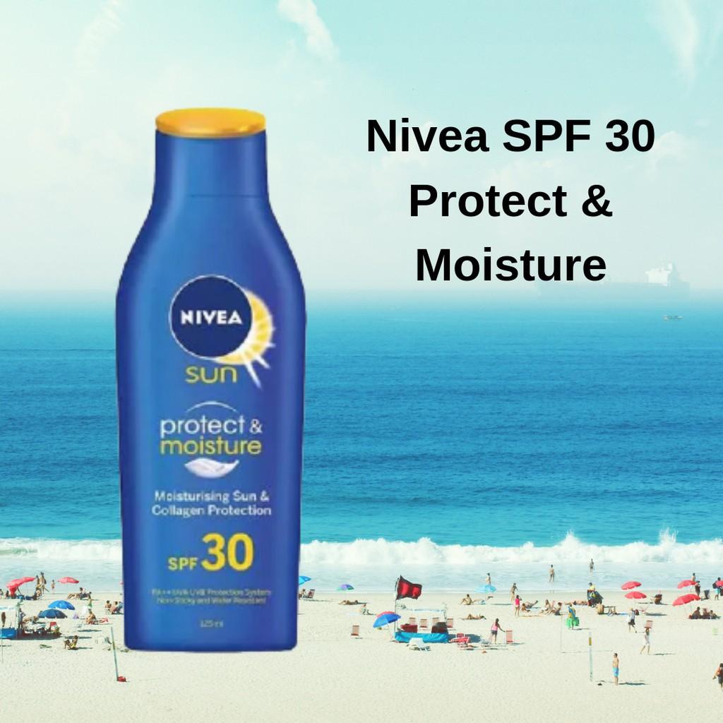 Nivea Sun Protect & Moisture SPF 30 125ml