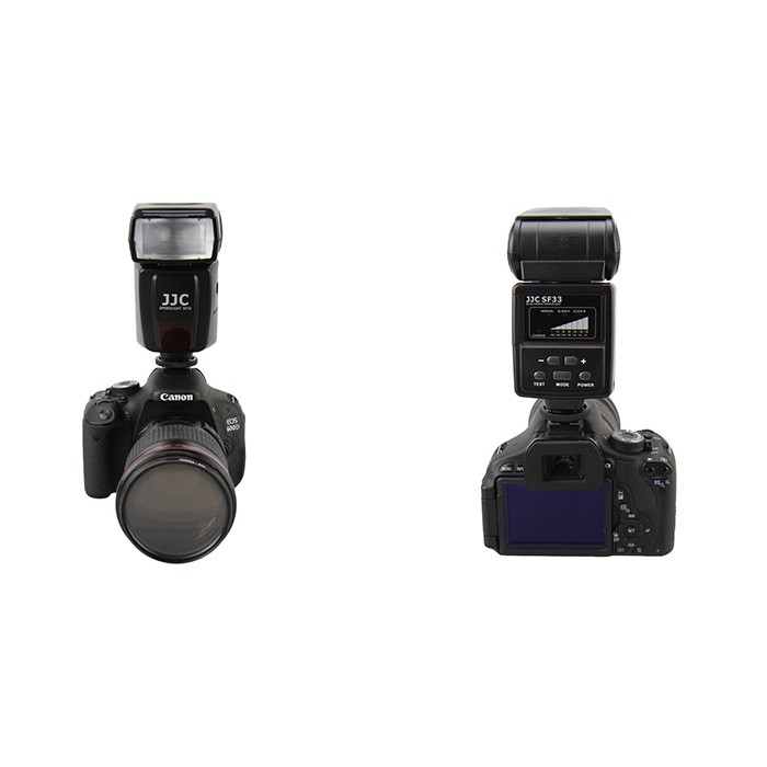 JJC SF-33 Manual Camera Flash/ Speedlite for Nikon Canon