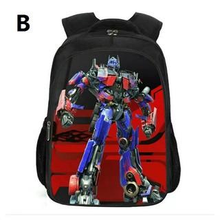 Transformers Bumblebee Boys School Backpack Book Bag Lunch Box SET Kids Autobot