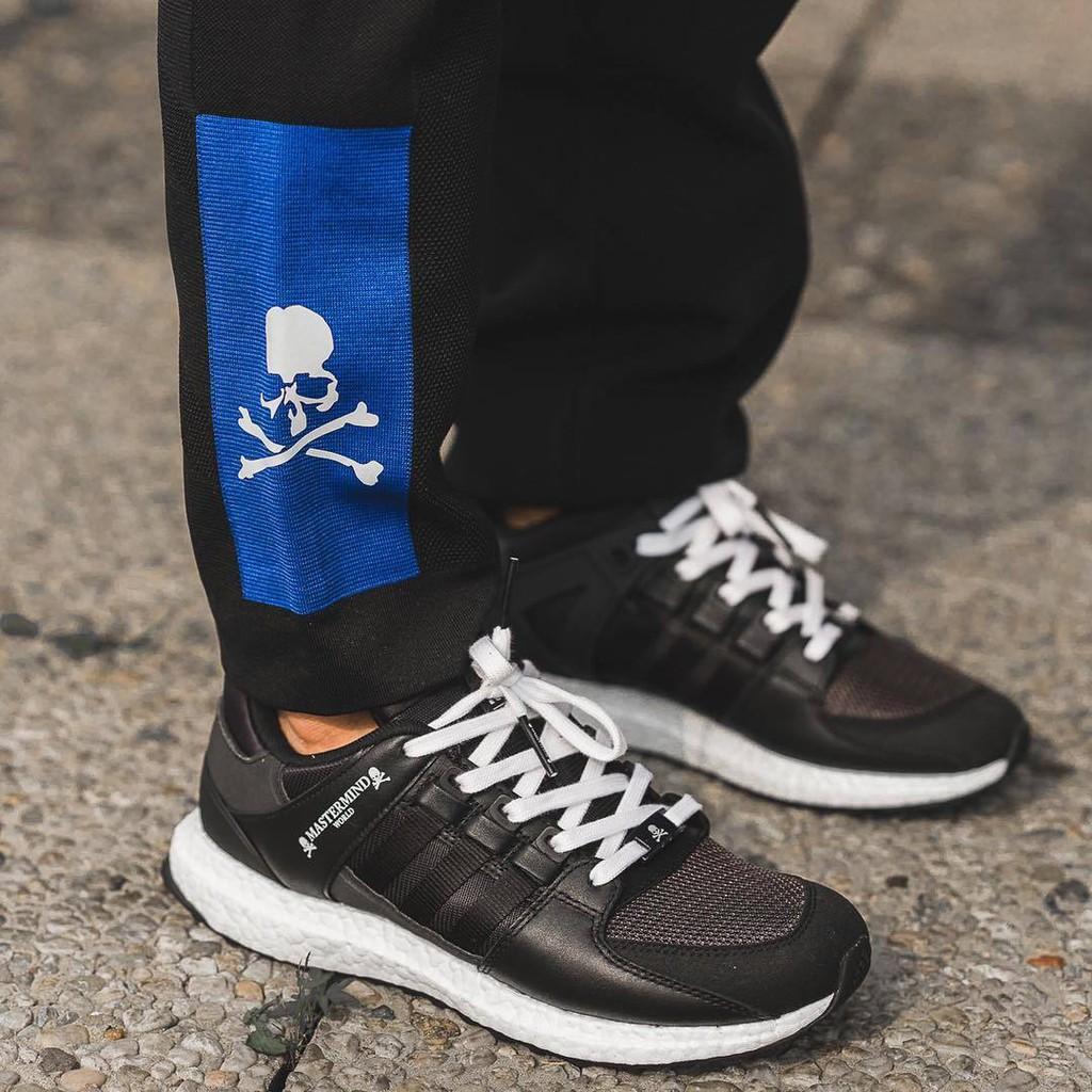 promo code 8f138 cad9b Adidas x Mastermind EQT Support 93/17 Black | Shopee Malaysia