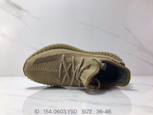 💥PREMIUM💥Adidas YeZZY Boost 350 V2 Earth Men Women Unisex Sneakers Shoes Low Tops Premium 36-46 Euro