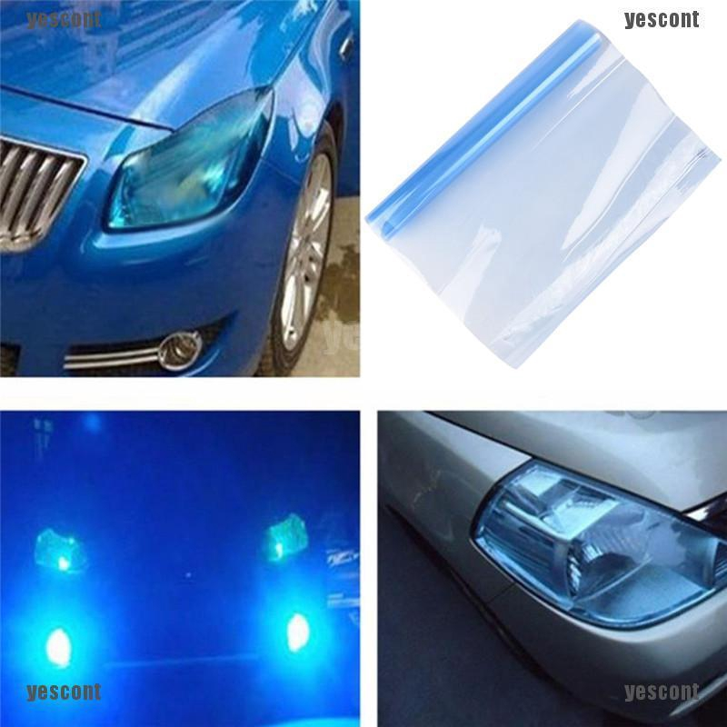 "12/""x24/"" Chameleon Clear Car Auto Headlight Taillight Fog Light Tint Vinyl Film"
