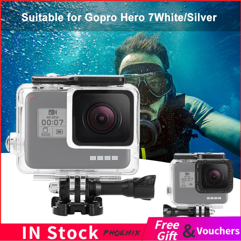 CAOMING Housing Shell CNC Aluminum Alloy Protective Cage with 37mm UV Lens Filter /& Lens Cap for GoPro HERO3 Color : Black //3 Durable