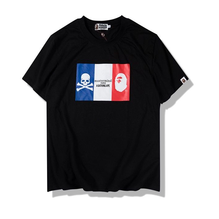 Bape print Skull t-shirt  1121c09f1