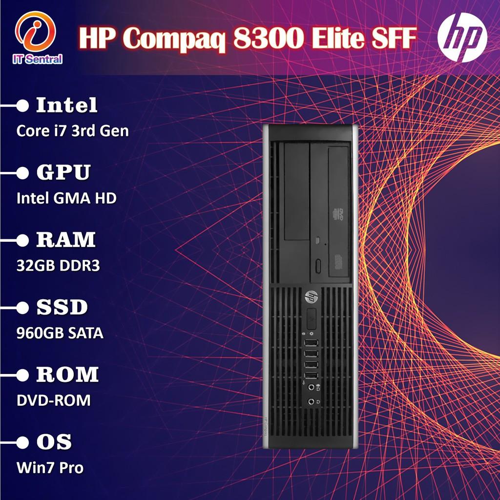 960gb Ssd 32gb Ram I7 Refurbished Hp Elite 8300 Sff Desktop Pc I3 I5 Murah Bajet Refurbished Cpu System Komputer Shopee Malaysia