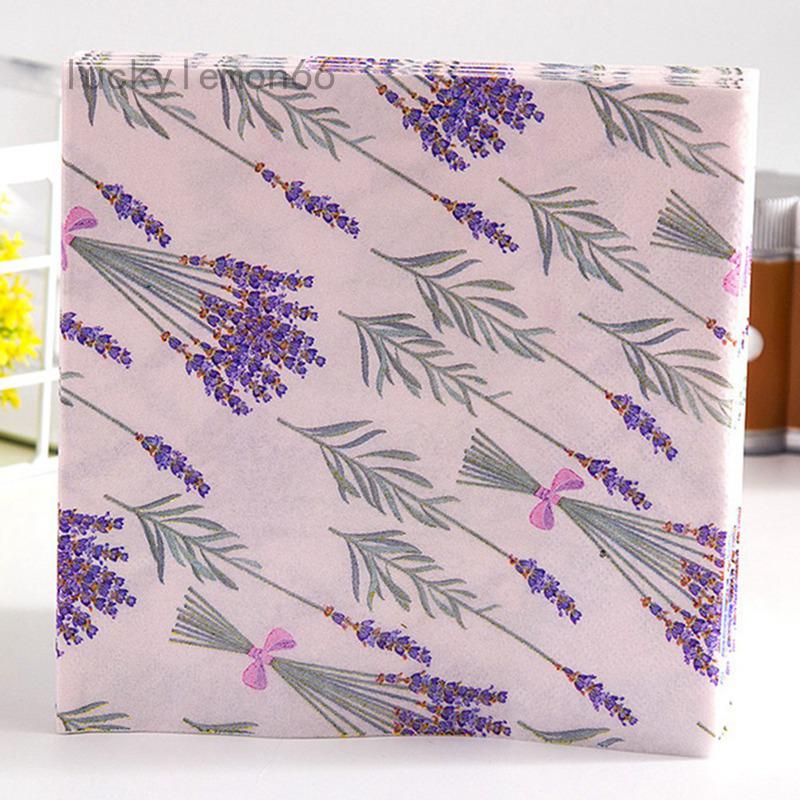 Pack of 20 Silver Paper Napkins Quality Decorative Serviettes 3ply 33cm x 33cm