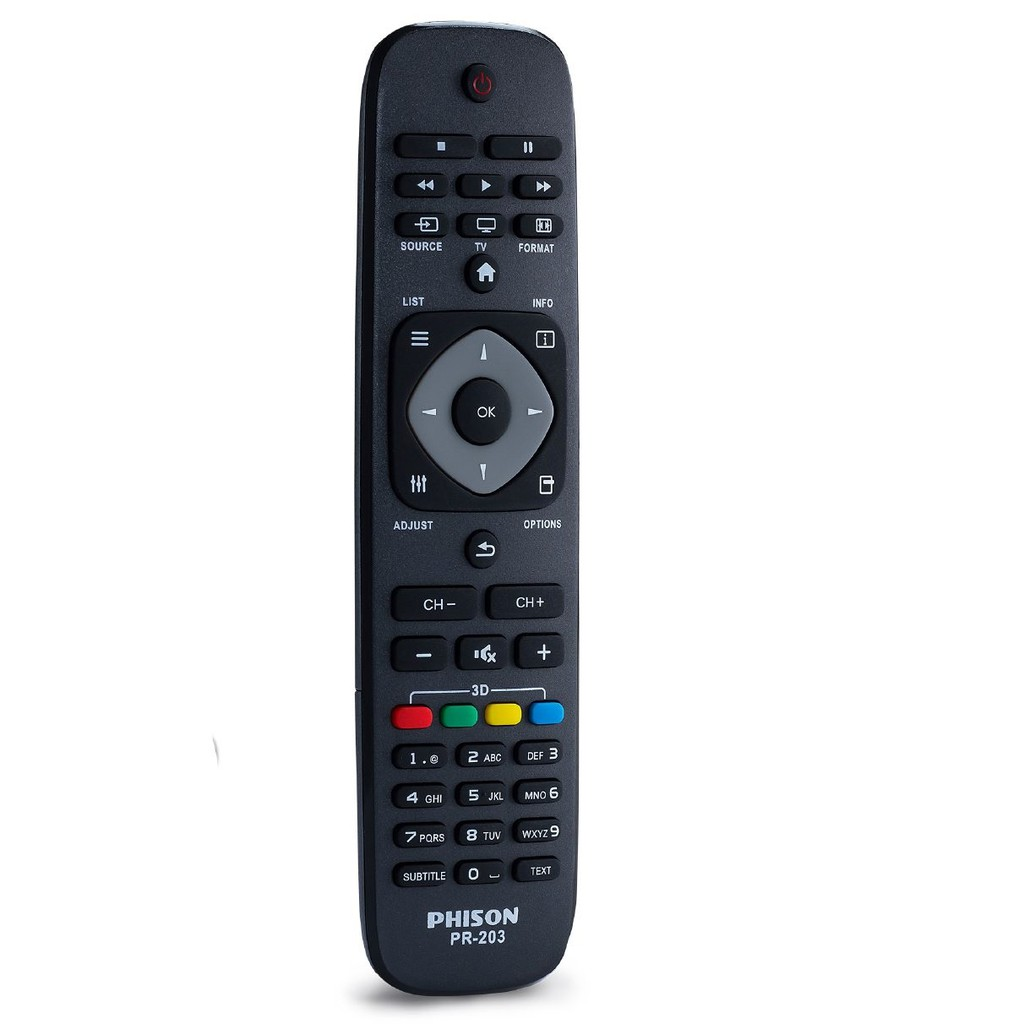Phison LCD/LED Television Remote Control for PHILIPS - PR-203