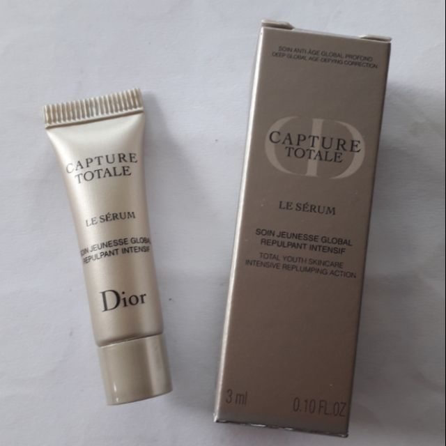 d085493771 Capture Totale Le Serum Total Youth Skincare Intense Replumping Action 3ml